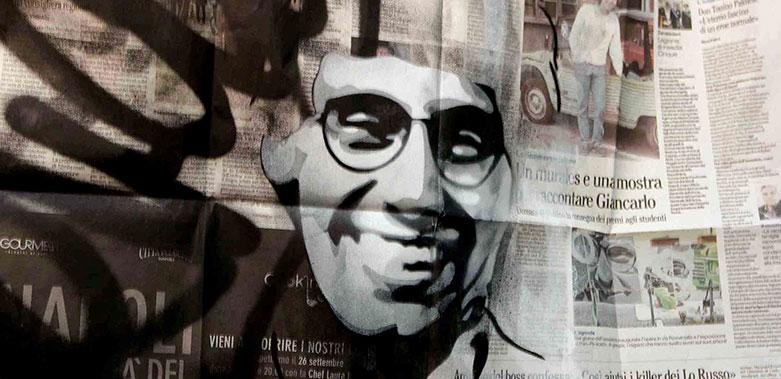 Un Murale per Gincarlo Siani storie e valori di un progetto