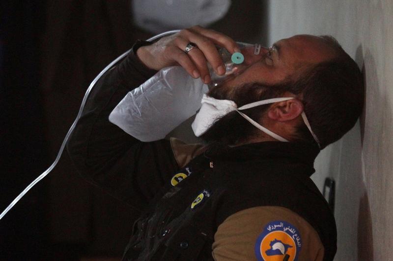Siria: ennesimo attacco con armi chimiche contro i civili