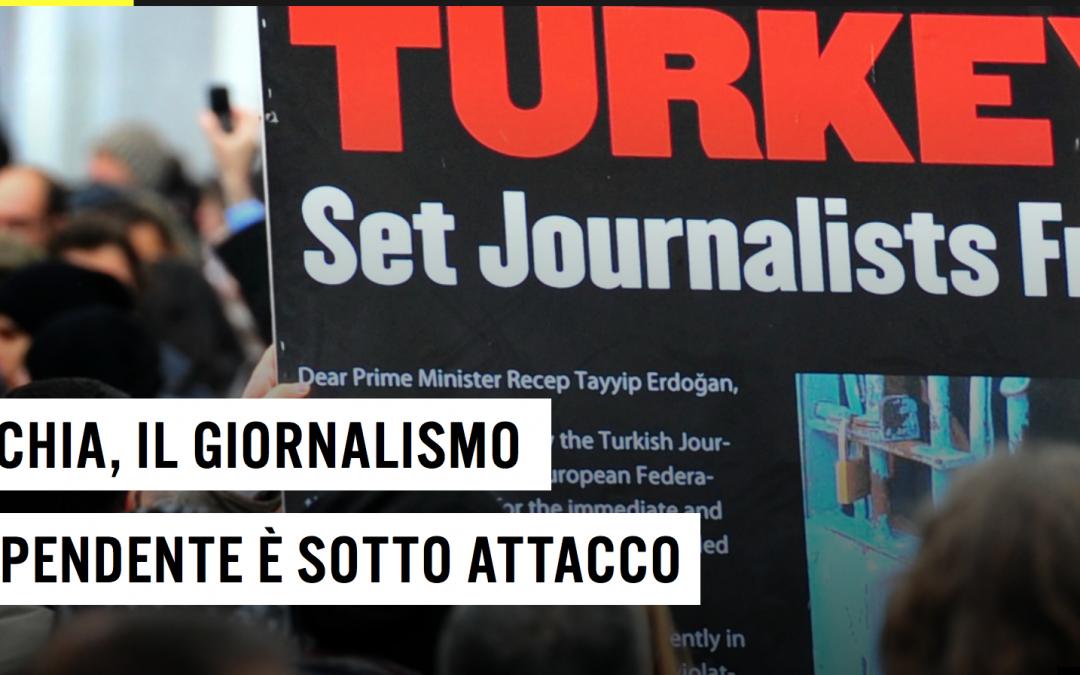 Amnesty International: appello per la salvaguardia dei media indipendenti in Turchia
