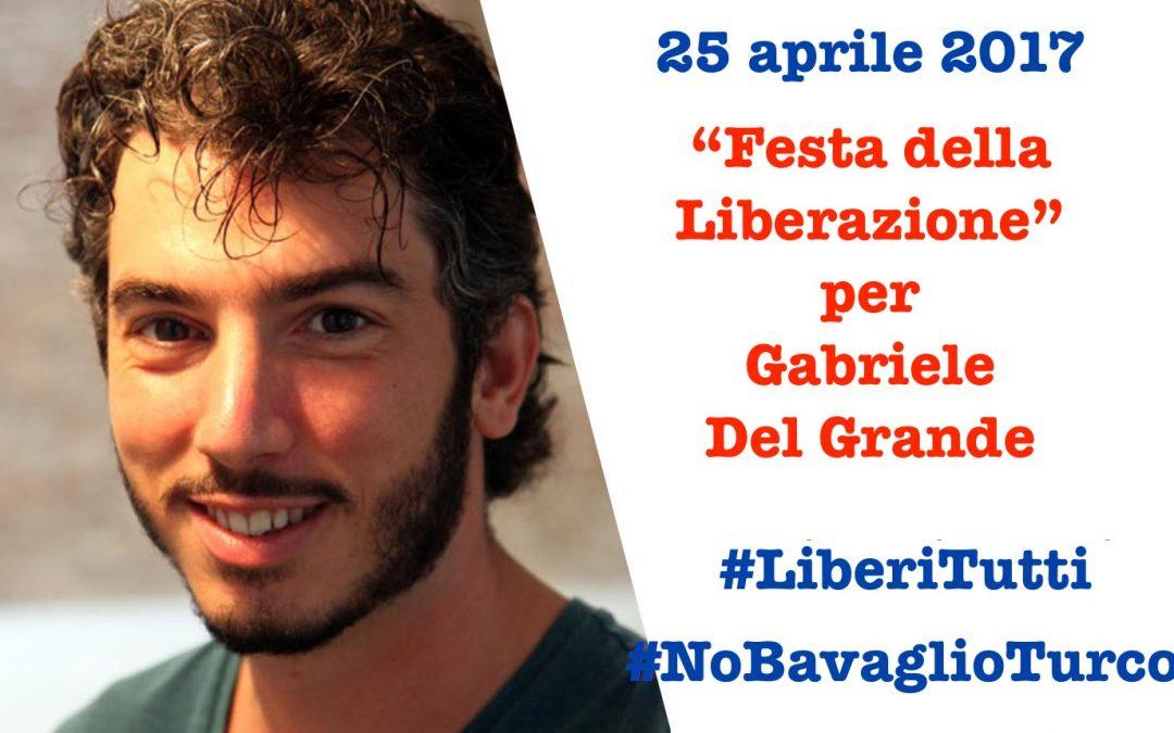 Il 25 aprile al PAN sit in per Gabriele Del Grande