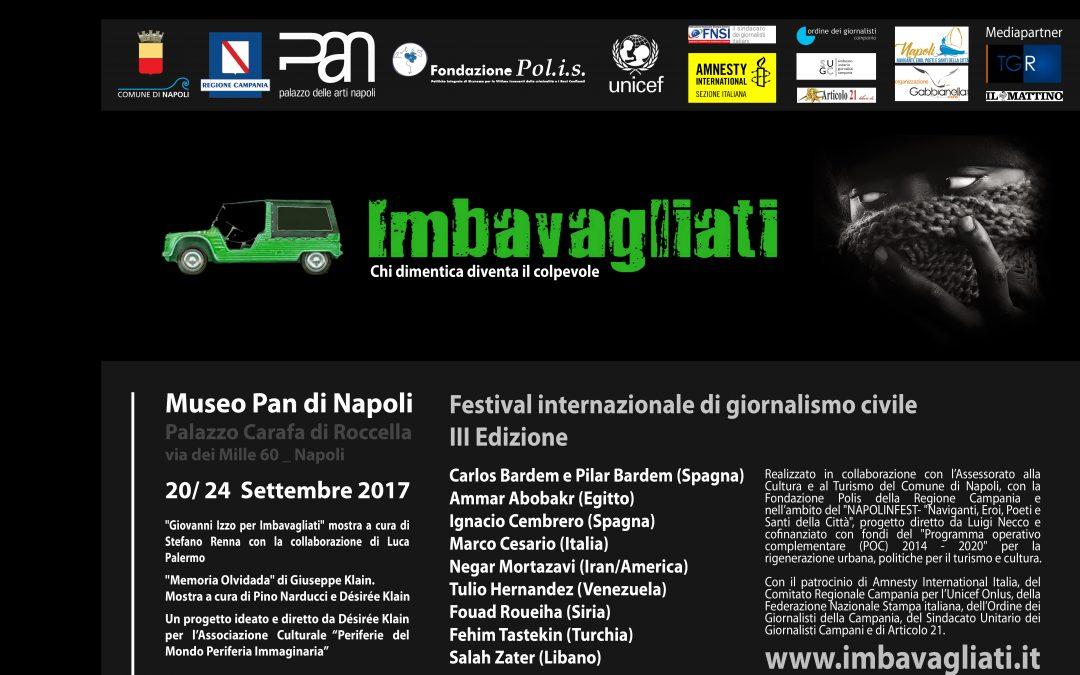 """Programma """"Imbavagliati"""" III edizione 2017"""