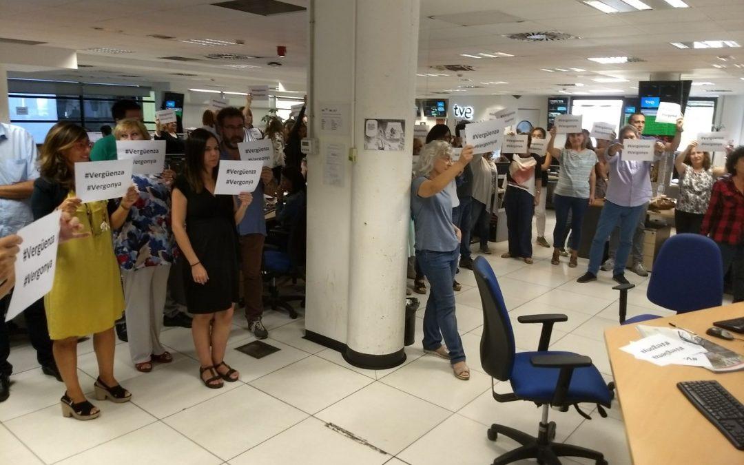 Catalogna: censurate violenze in TV, il Consiglio Informativo della Televisione Spagnola apre inchiesta
