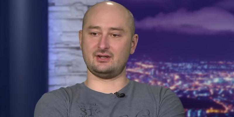 UPDATE Ucraina: la morte del giornalista Babchenko è stata una messa in scena