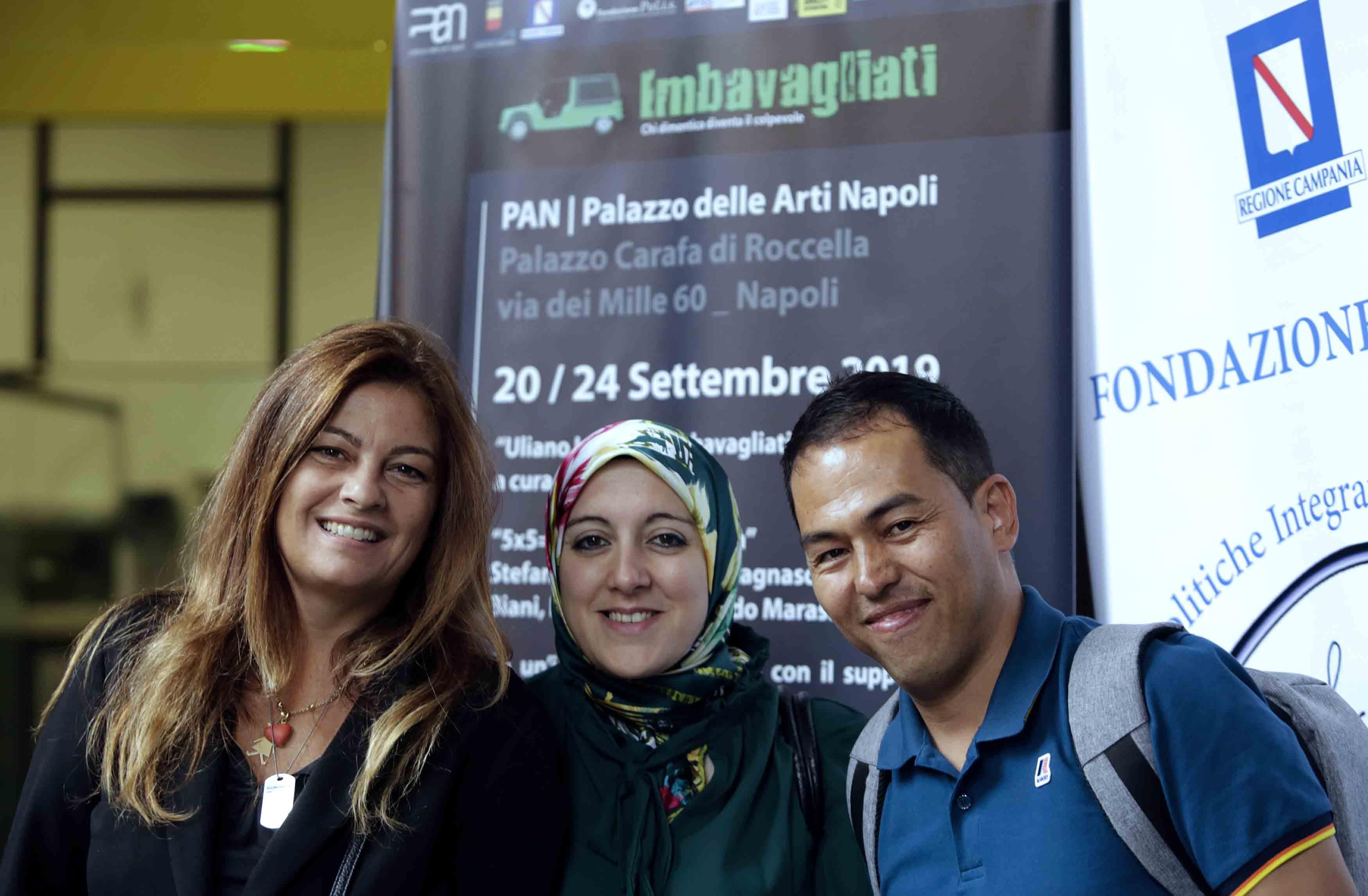 "Imbavagliati 2019  : ARTISTI MINACCIATI. ""Afghanistan, Siria e L"